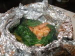 Moroccan Shrimp with Spinach (Easy, Quick, Healthy, Packed with Flavor!)