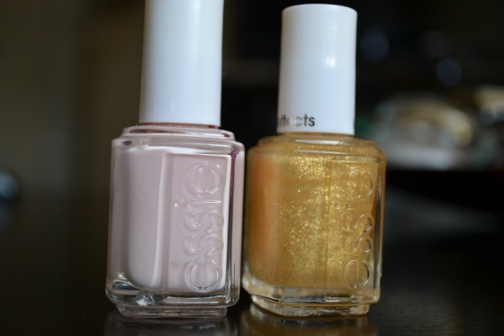 Essie Fiji with Essie As Gold As It Gets