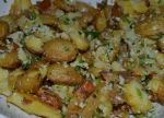 Lemon Parmesan Smashed Potatoes!