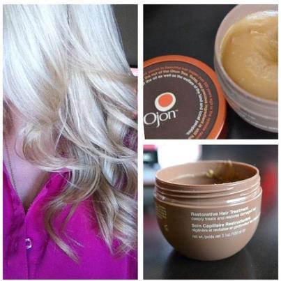 Ojon Restorative Hair  Treatment leaves hair soft, super shiny and manageable!