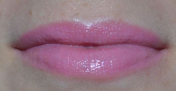 Revlon Candy Pink with L'Oreal Merino Mauve lipcolor
