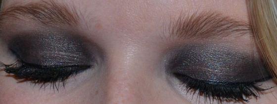 Black Smokey Eye with NYX black Jumbo Pencil & MAC Beauty Marked