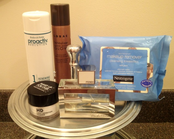 Britana's top 5 beauty products!