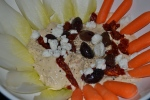Restaurant Style Mediterranean Hummus Appetizer!  So easy and tastes gourmet