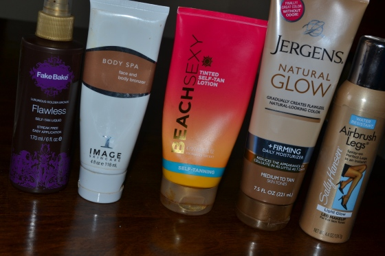 The best sunless tanners!