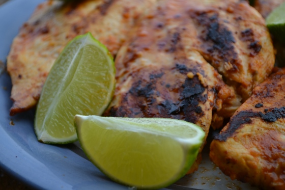 Hot Buffalo Lime Grilled Chicken